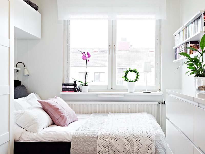 25 small bedrooms with big ideas hipvan. Black Bedroom Furniture Sets. Home Design Ideas