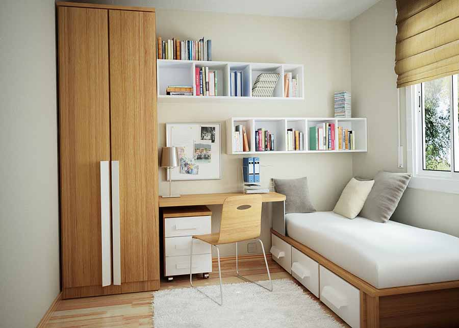 Space Saving Solutions For Small Bedrooms Blog HipVan - Hdb bedroom design ideas