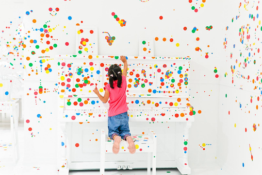 Bring The Dotty, Coloured Universe from Yayoi Kusama's Exhibit Back to Your Home!