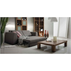 (As Is) Casablanca Coffee Table - Light Cappuccino - 1