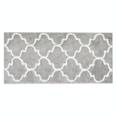 Lattice Long Mat - Grey