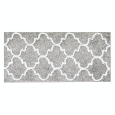 Lattice Long Mat - Grey - Image 2