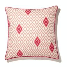 Deree Cushion Cover - Peach & Hot Pink