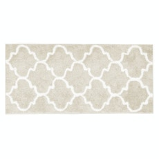 Lattice Long Mat - Beige