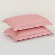 LUXE Pillow Case (Set of 2) - Dusty Rose