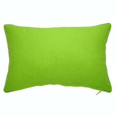 Lattice Rectangle Cushion - Apple Green - Image 2