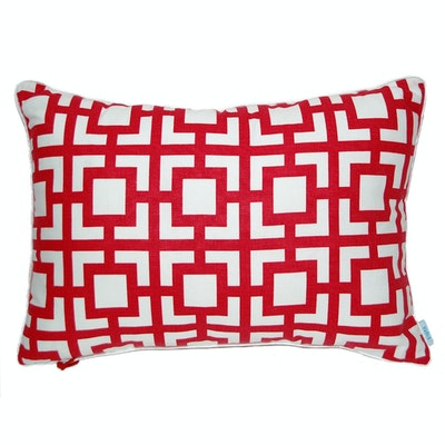 Gigi Rectangle Cushion - Red