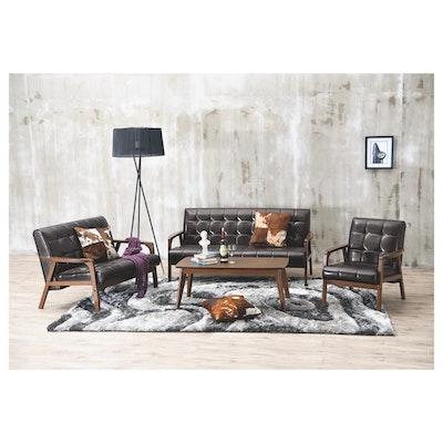 (As-is) Tucson 3 Seater Sofa - Cocoa, Espresso - 5 - Image 2