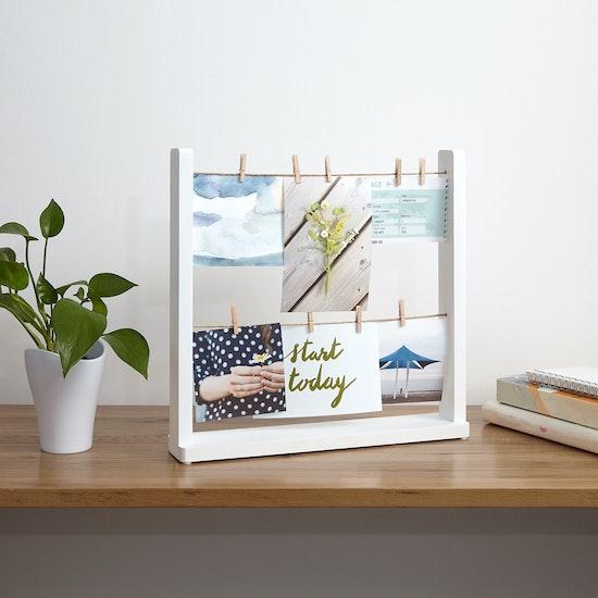 Umbra - Hangit Desk Photo Display - White