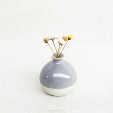 Mini Vase - Lavender Fog