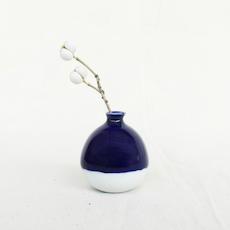 Mini Vase - China Blue