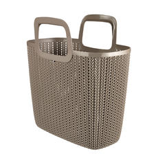 Knit Garden Basket - Harvest Brown