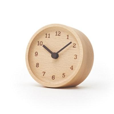 MUKU Desk Clock - Beech - Image 1