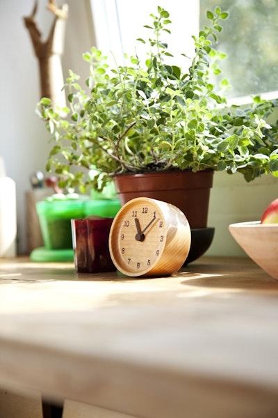 MUKU Desk Clock - Beech - Image 2