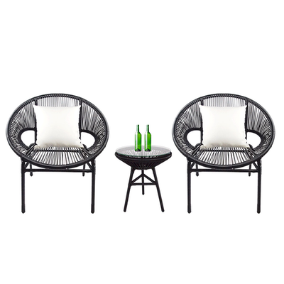 Shelton Patio Set with White Pillow - Image 1