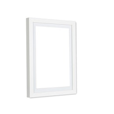 A4 Size Wooden Frame - White