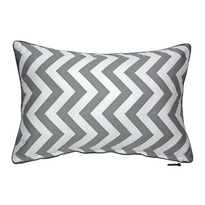 Siam Rectangle Cushion - Grey - Image 2