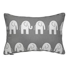 Siam Rectangle Cushion - Grey