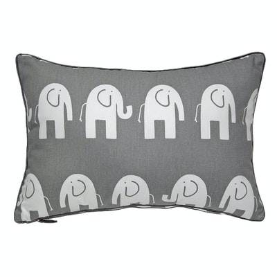 Siam Rectangle Cushion - Grey