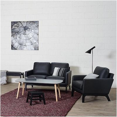Kyra High Coffee Table - Grey - Image 2