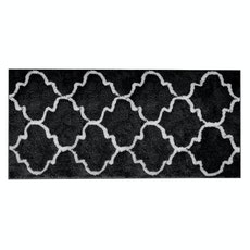 Lattice Long Mat - Black