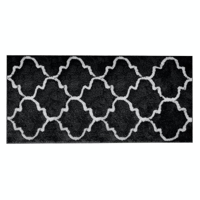 Lattice Long Mat - Black - Image 2