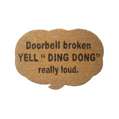 Ding Dong Coir Door Mat