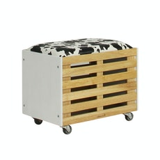 Zahra Crate Storage - White