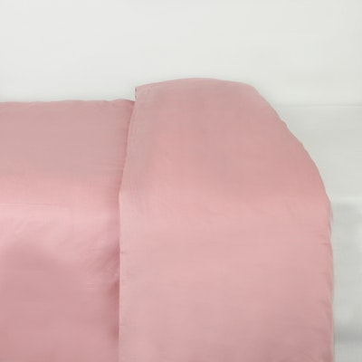 (King) LUXE Duvet Cover - Dusty Rose - Image 1