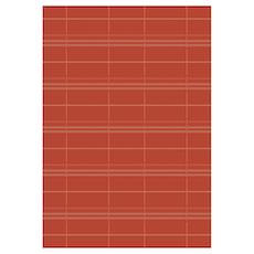 Essenza Plaid Rug - Red