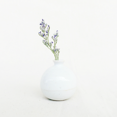 Mini Vase - High White