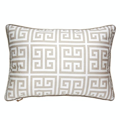 Grekko Rectangle Cushion - Ecru - Image 1