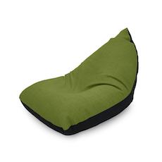 Doodle Triangle Bean Bag - Green
