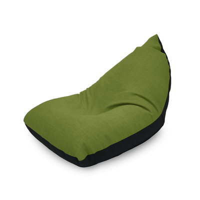 Doodle Triangle Bean Bag - Green - Image 1