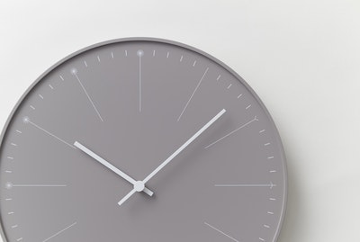 Dandelion Wall Clock - Beige - Image 2
