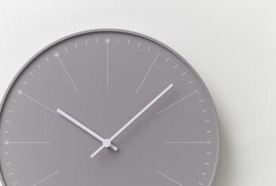 Dandelion Wall Clock - Beige