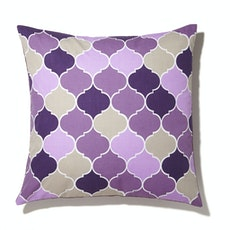 Melze Cushion Cover - Purple
