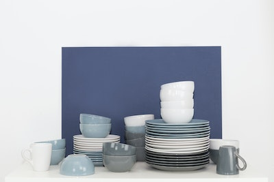 EVERYDAY 6-Pc Side Plate Set - Blue - Image 2