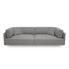 Dennis 3 Seater Sofa - Light Grey