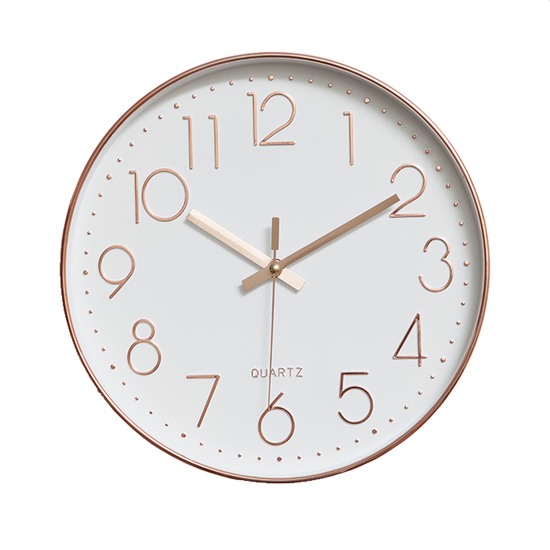 Rose Gold Wall Clock Hipvan