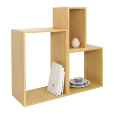 Hugh Oak Shelf Set - B