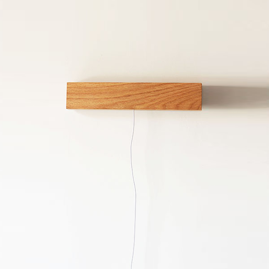 Wall Lamp With Usb : Foljare Wooden USB LED Bedside Wall Lamp - Light Brown HipVan