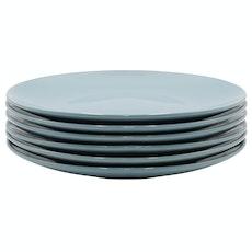 EVERYDAY 6-Pc Dinner Plate Set - Blue