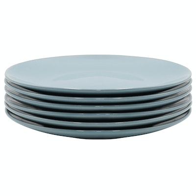 EVERYDAY 6-Pc Dinner Plate Set - Blue