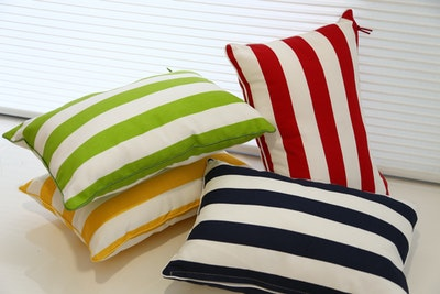 Rally Rectangle Cushion - Navy - Image 2