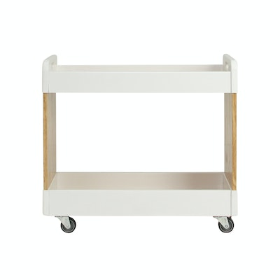 Mikelle Trolley - White