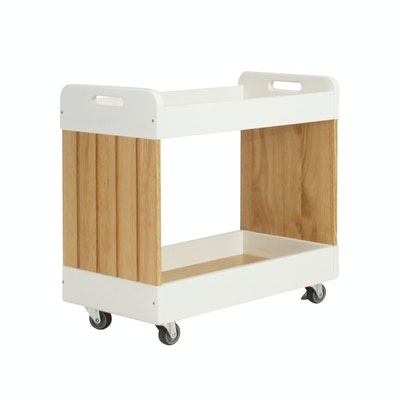 Mikelle Trolley - White - Image 1