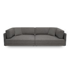 Dennis 3 Seater Sofa - Dark Grey