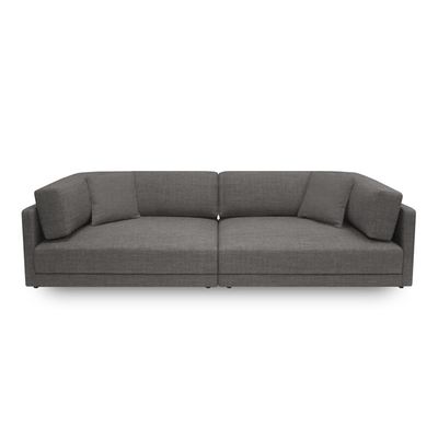 Dennis 3 Seater Sofa - Dark Grey