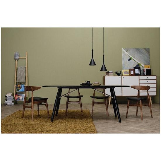 Tricia Dining Chair Oak Cream Malmo Hipvan